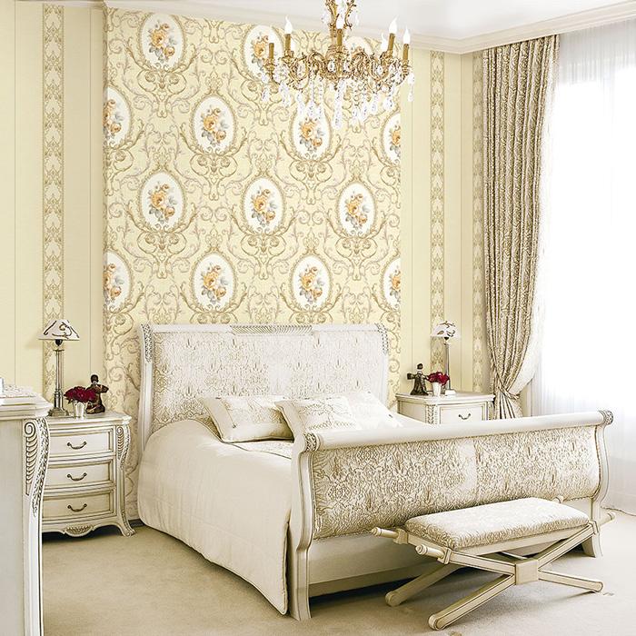 dùng giấy dán tường phòng ngủ