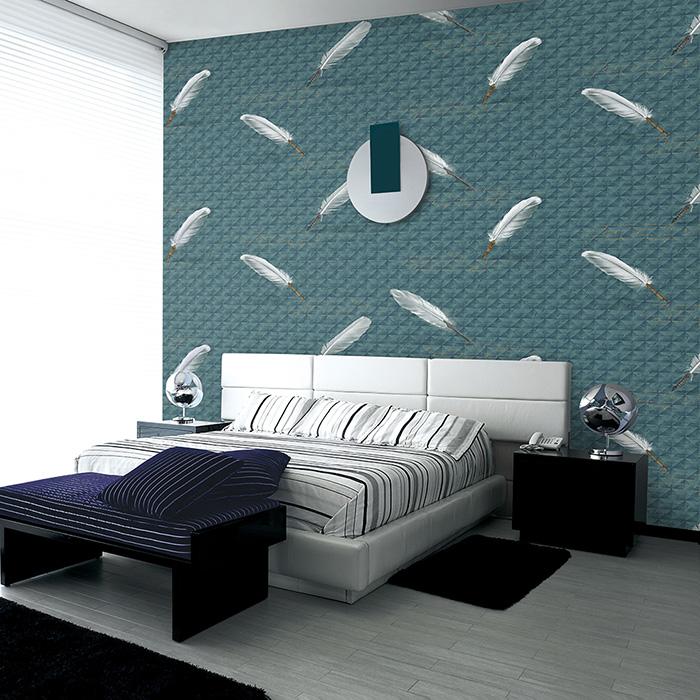 giấy dán tường phòng ngủ giá rẻ