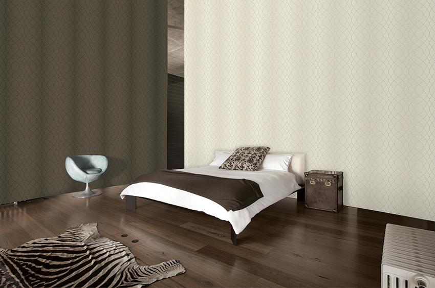 giấy dán tường phòng ngủ với nhiều hoa văn mẫu mã