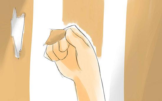 giấy gián tường | Loại bỏ giấy dán tường | step-5c