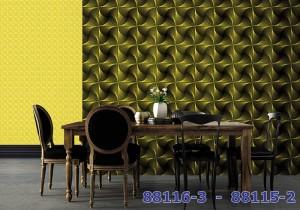 Giấy Dán Tường Hàn Quốc Phòng Ăn Nhà Bếp MS: 88128-2