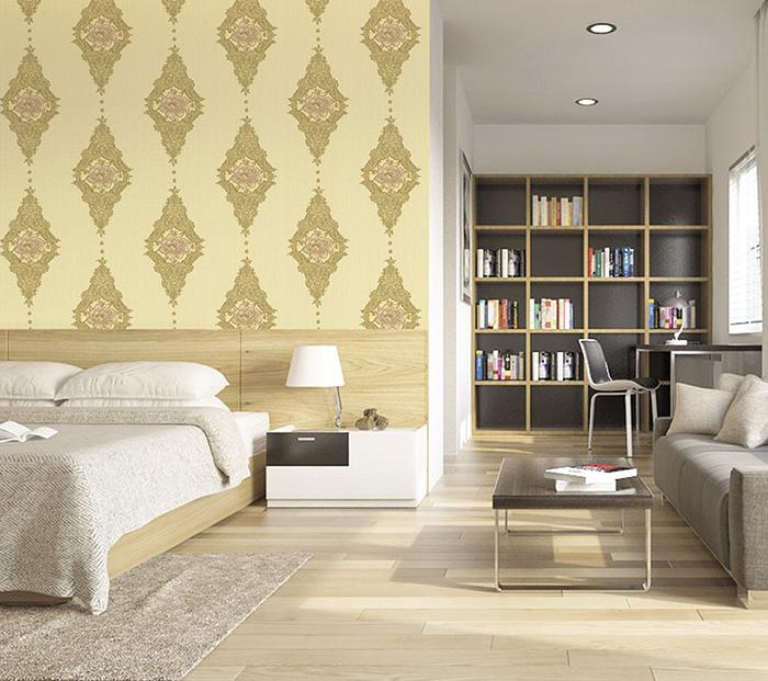 giấy dán tường trang trí cho phòng ngủ