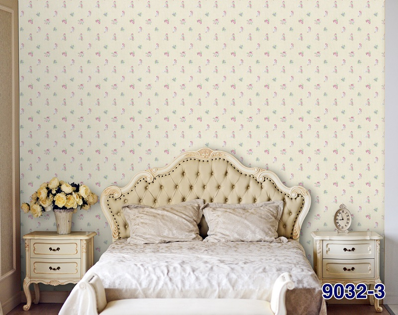 giấy dán tường phòng ngủ hiện đại