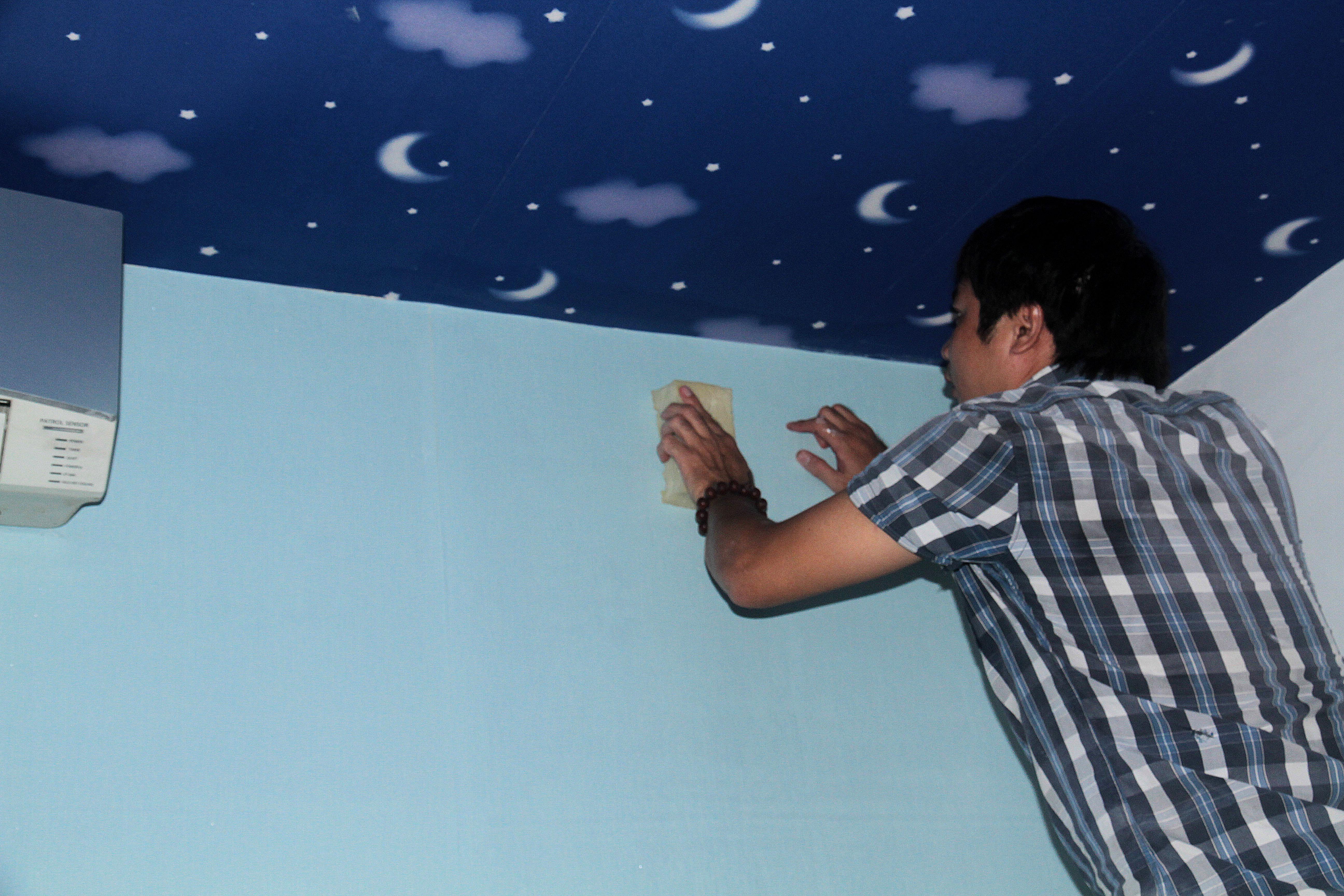 Những vấn đề cần lưu ý khi dán giấy dán tường