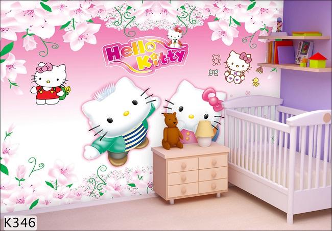 giay-dan-tuong-hello-kitty