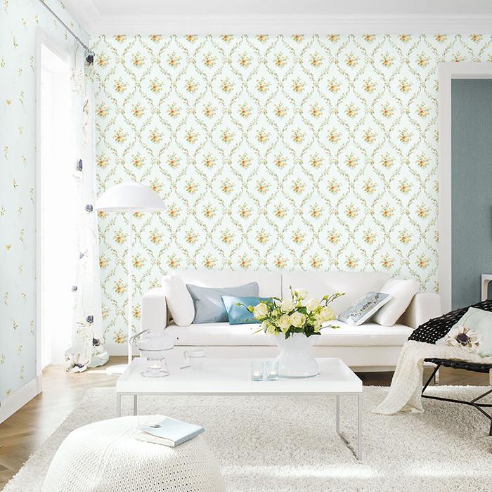 giấy dán tường cho phòng ngủ đơn giản