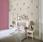 giấy dán tường phòng ngủ sang trọng