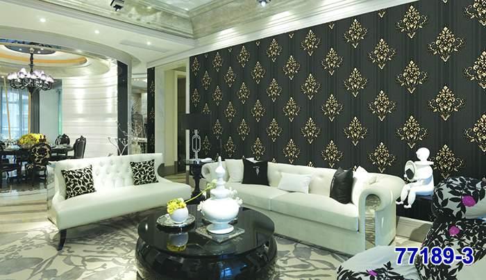 Living room in elegant home