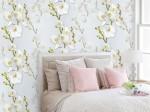 giấy dán tường cho phòng ngủ sang trọng