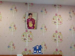 Happy Home thi công giấy dán tường tại TPHCM