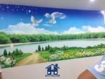 Tranh dán tường Happy Home