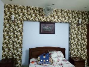 Happy Home thi công giấy dán tường