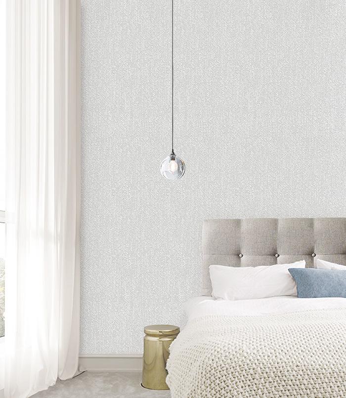 sử dụng giấy dán tường đẹp ngủ