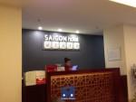 thi công giấy dán tường Sài Gòn Hotel, thi công giấy dán tường,giấy dán tường