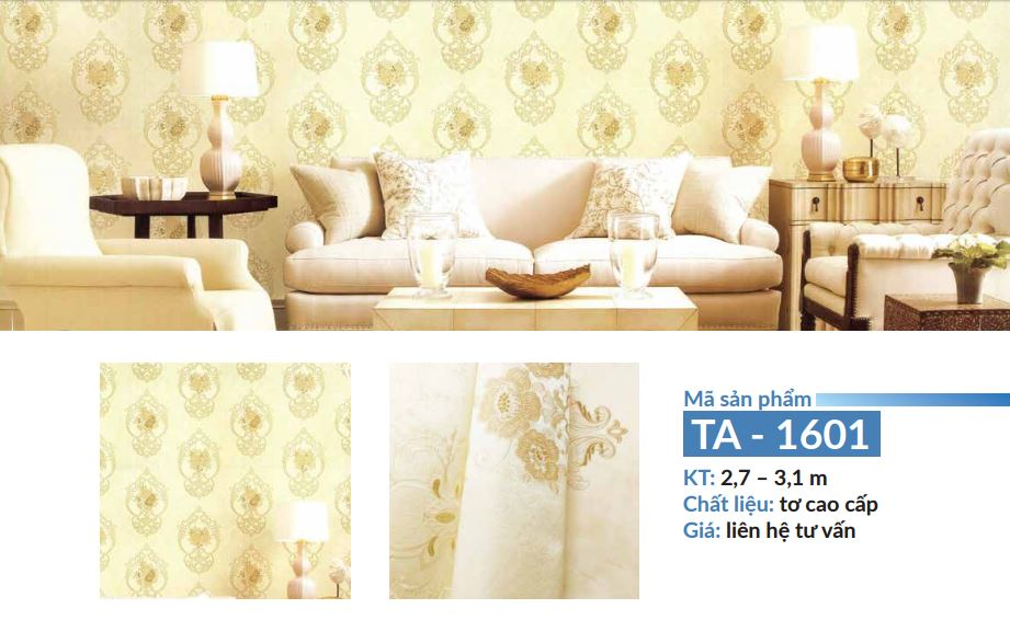 vải dán tường đẹp chất và rẻ