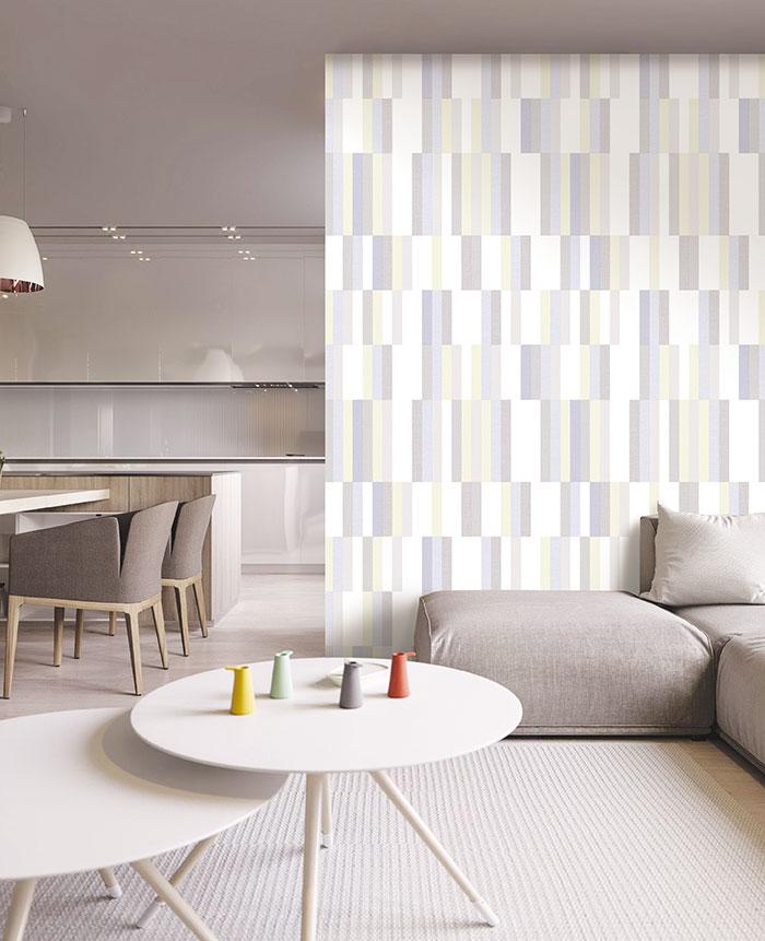 Gợi ý cách lựa chọn giấy dán tường phòng khách sang trọng 1
