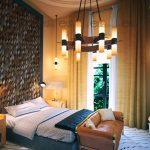 Tường gỗ trang trí phòng khách sáng tạo, nghệ thuật