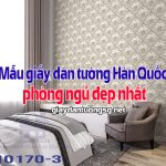 Mẫu giấy dán tường Hàn Quốc phòng ngủ đẹp nhất