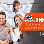 Tuyển dụng 5 nhân viên Sale tại HCM và hàng trăm Cộng Tác Viên trên toàn quốc