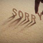 Biết nói lời xin lỗi!