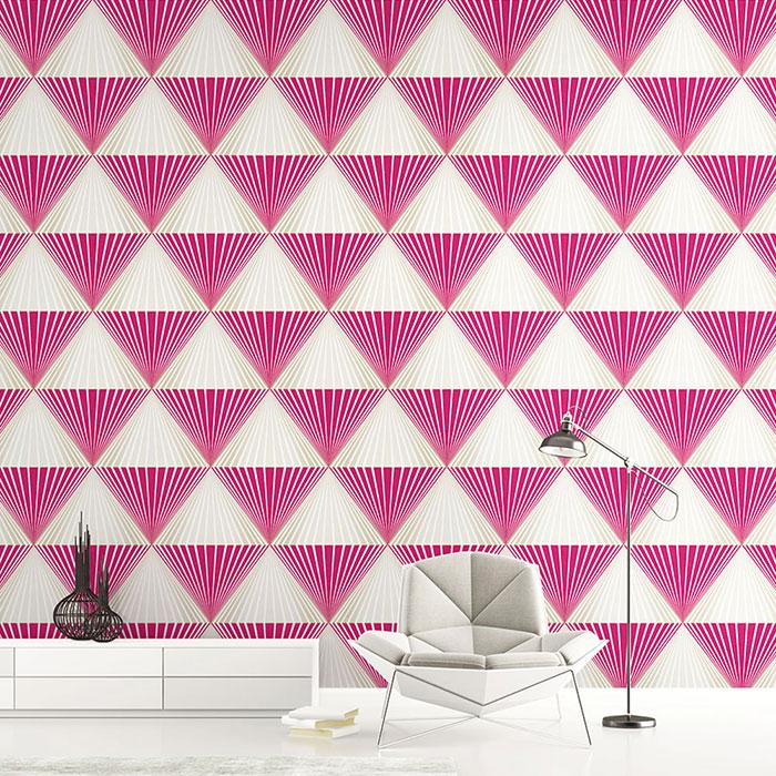 Gợi ý cách lựa chọn giấy dán tường phòng khách sang trọng