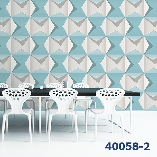Giấy Dán Tường Hàn Quốc 3D Assemble Ms:40058-2