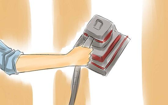 giấy gián tường | Loại bỏ giấy dán tường | Dùng dung dịch | step-2