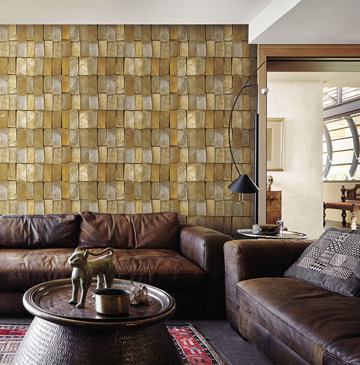 Cách chọn giấy dán tường phòng khách 1