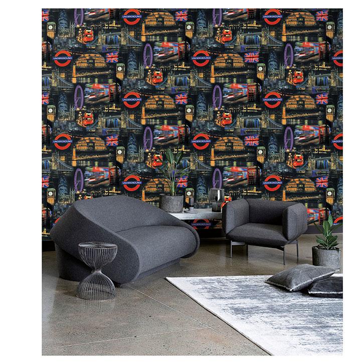 Cách chọn giấy dán tường phòng khách