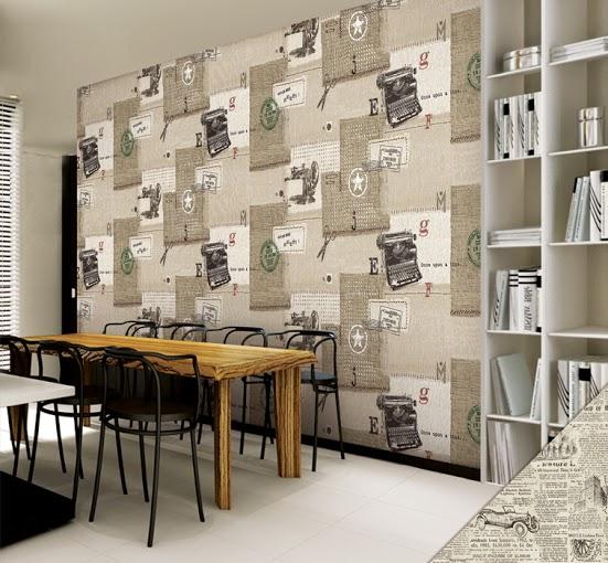 giấy dan tường đẹp