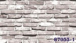 Giấy Dán Tường Hàn Quốc Giả Gạch MS: 87032-2