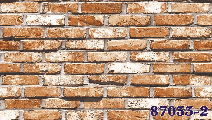 Giấy Dán Tường Hàn Quốc Giả Gạch MS: 87033-1