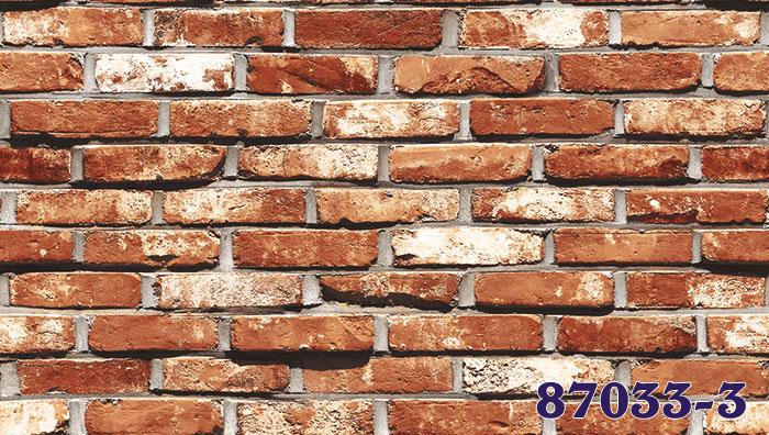 Giấy Dán Tường Hàn Quốc Giả Gạch MS: 87033-2