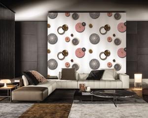 cách chọn giấy dán tường cho phòng khách