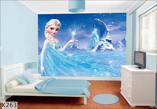 Tạo sự mới mẻ cho phòng ngủ của bé với giấy dán tường 3D