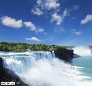 Tranh dán tường phong cảnh thác nước