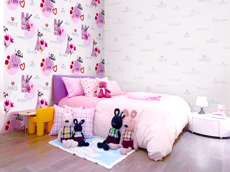 Young girls bedroom