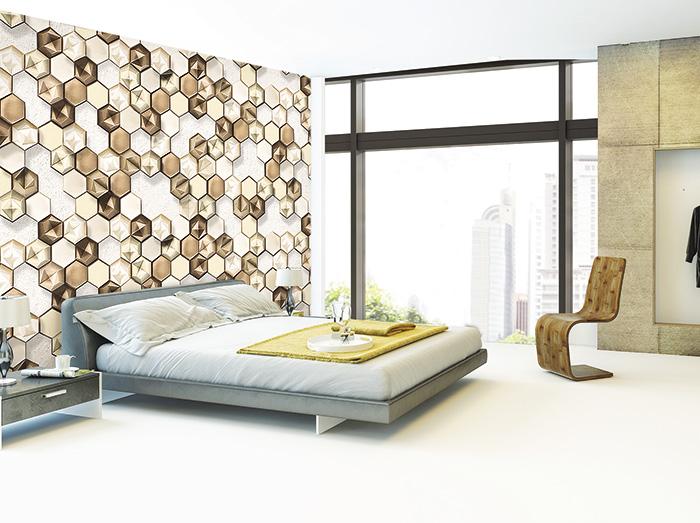 giấy dán tường cho phòng ngủ sang chảnh