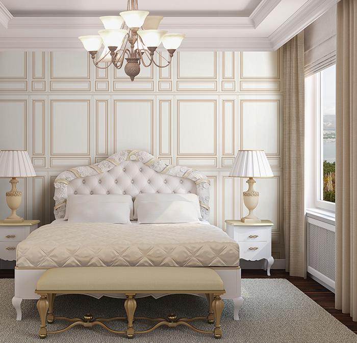 giấy dán tường đẹp phòng ngủ