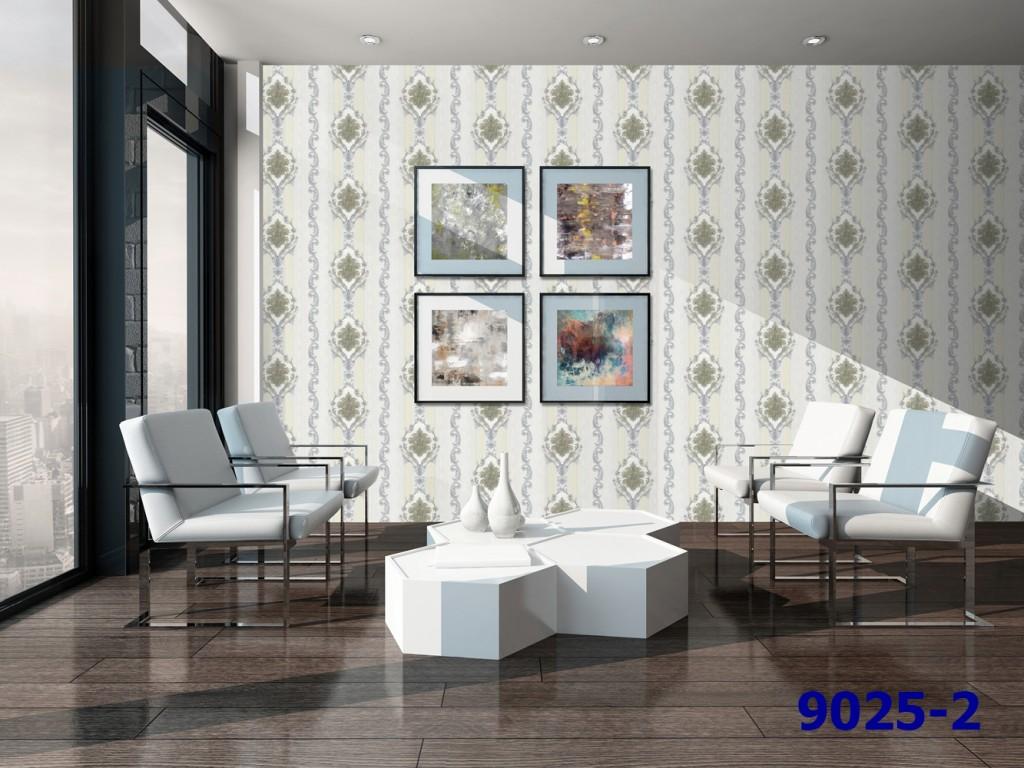 mẫu giấy dán tường phòng khách