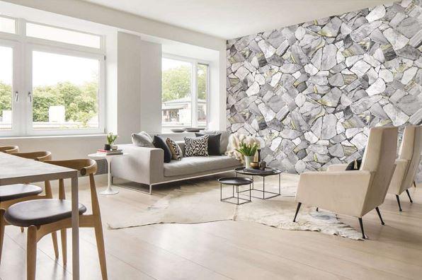 chọn giấy dán tường đẹp cho phòng khách