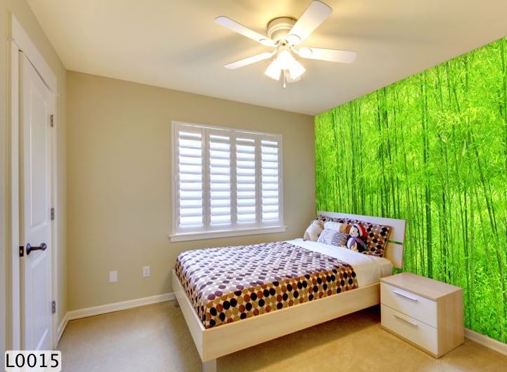 giấy dán tường 3d phòng ngủ
