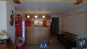 Happy Home thi công giấy dán tường khách sạn Sen Hotel