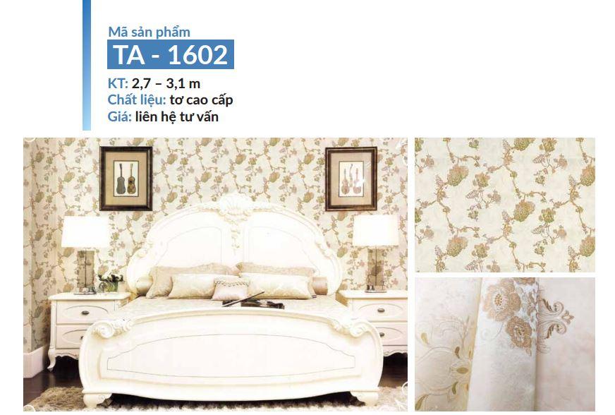 lụa dán tường cho phòng ngủ siêu bền