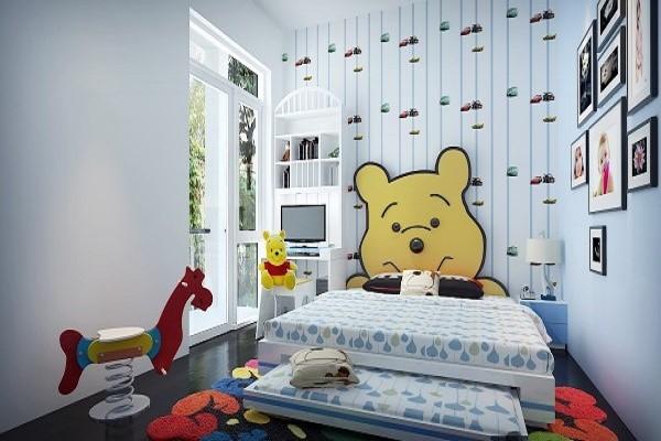 giấy dán tường phòng ngủ nhỏ