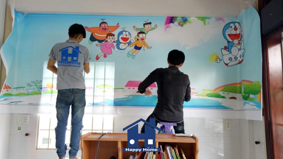 thi-cong-giay-dan-tuong-3D-tai-tphcm
