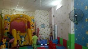thi công giấy dán tường trẻ em